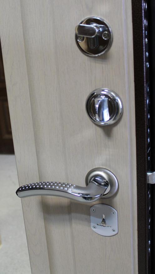 металлическая дверь зеленая с зеркалом купить