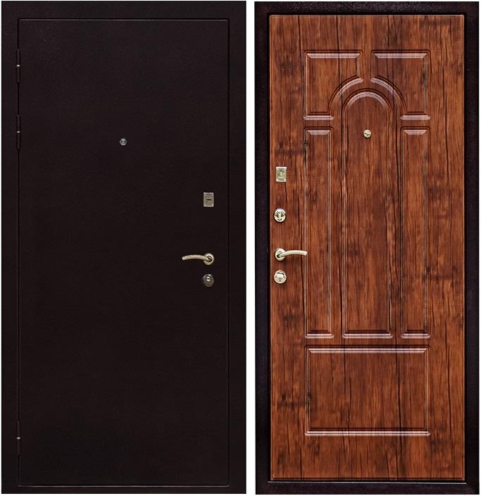 металлические двери в дверь