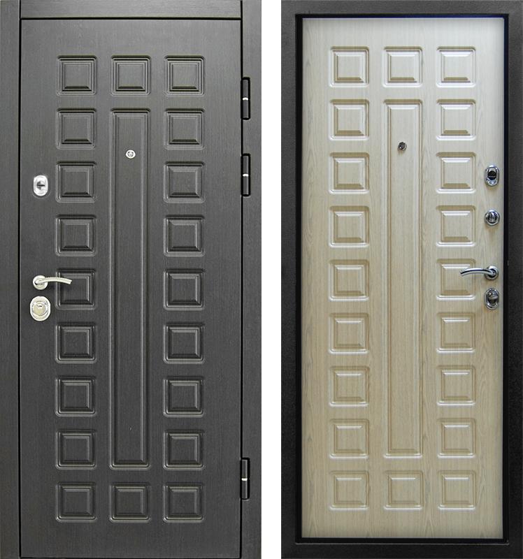 двери металлические венге беленый дуб