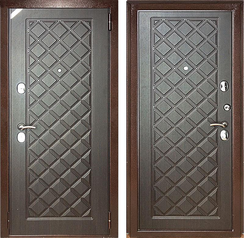 фото дверей из стали врач